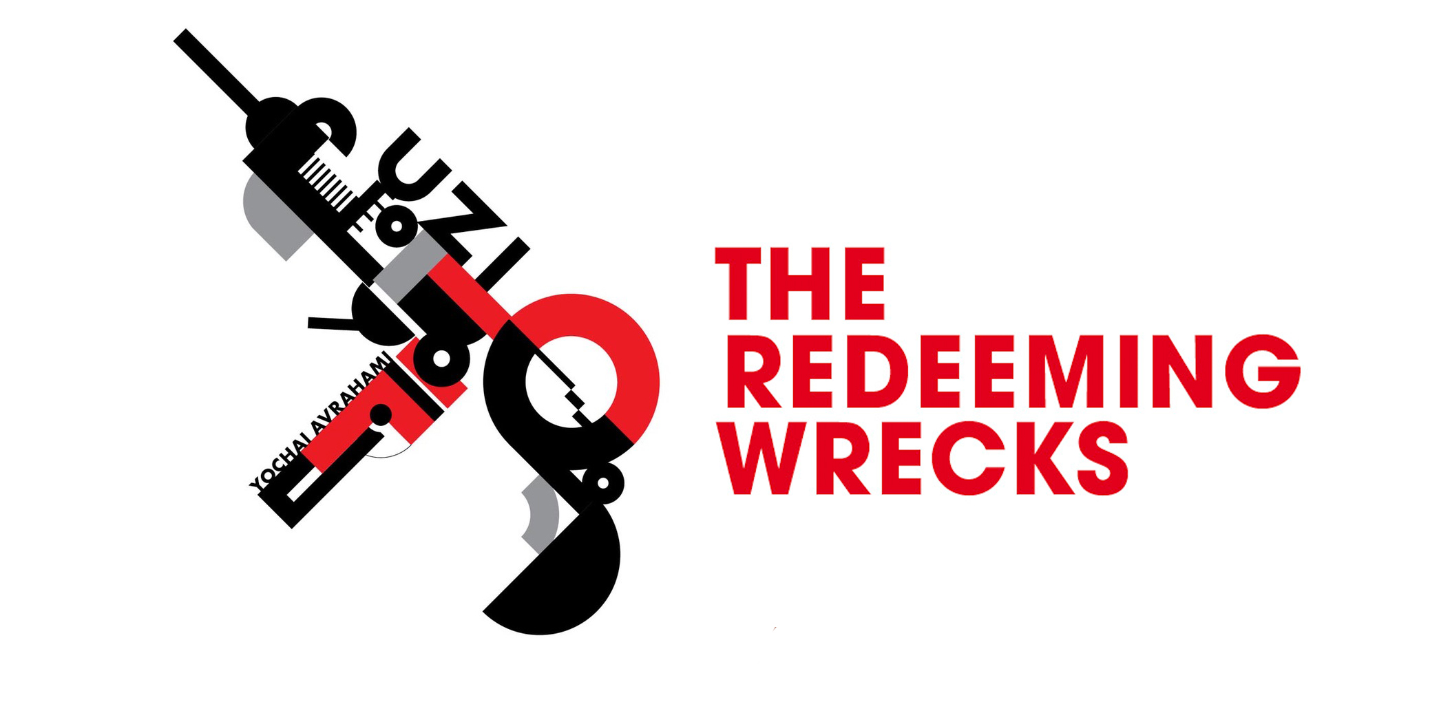 The Redeeming Wrecks. Ausstellungsgrafik UZI. | © K-N studio